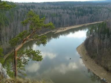 Прогулка по реке Чусовая