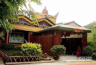 Фольклорная деревня народностей Ли и Мяо