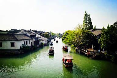 Китайский городок на воде