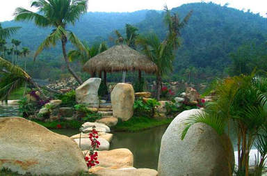 Деревня народностей Ли и Мяо «Бинлангу»