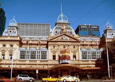 Здание Princess-Theatre в Мельбурне