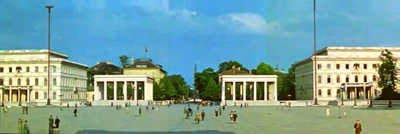 Королевская площадь во времена III Рейха