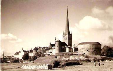 Морские ворота и церковь Оливисте