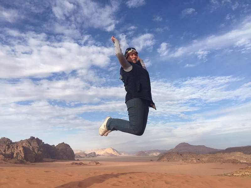 Над пустыней