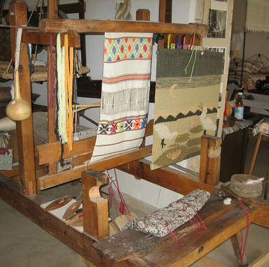 Музей ткачества в деревне Фити