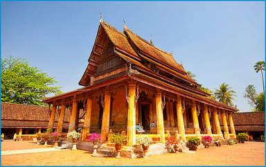 Храм Вас Сисакет, Вьентьян