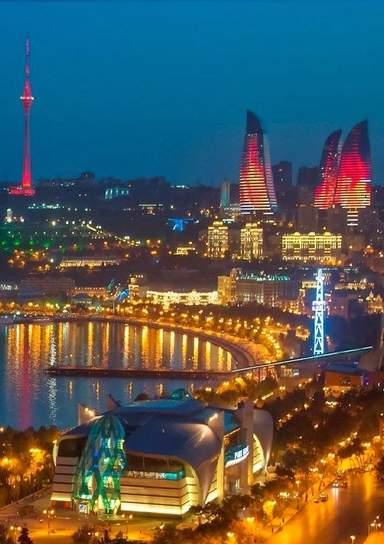 Вид на бакинский бульвар