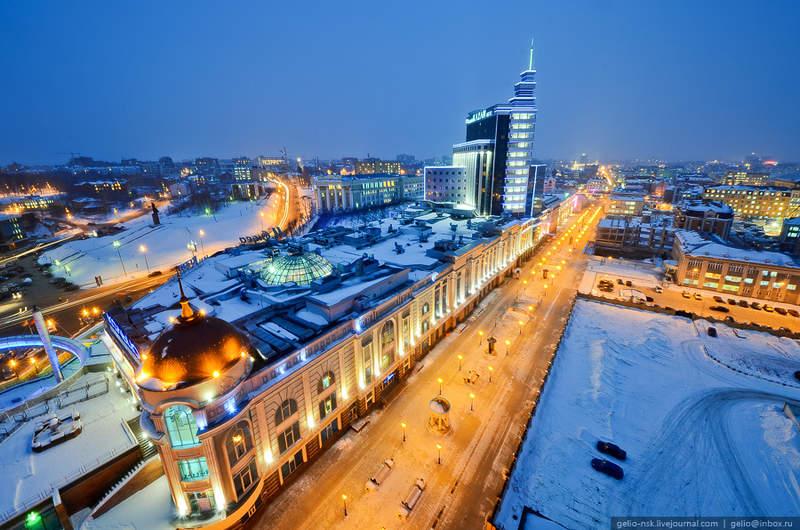 Панорама города Казани