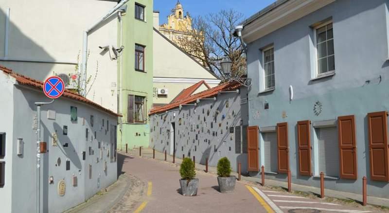 Старая часть города Вильнюса