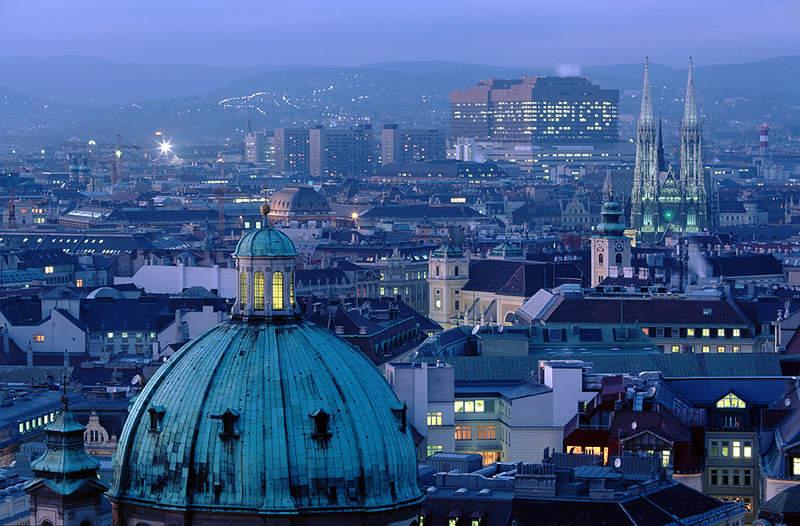 Панорамный вид Вены