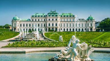 Дворцово-парковый  ансамбль в Вене