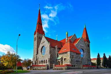 Кафедральный собор г. Тампере