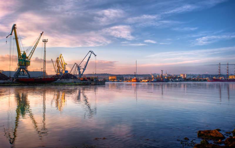 Керчь - город корабелов и рыбаков