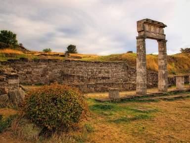 Раскопки древнего Пантикапея. Пританей