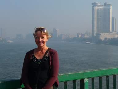 Каир. Мост 6 октября