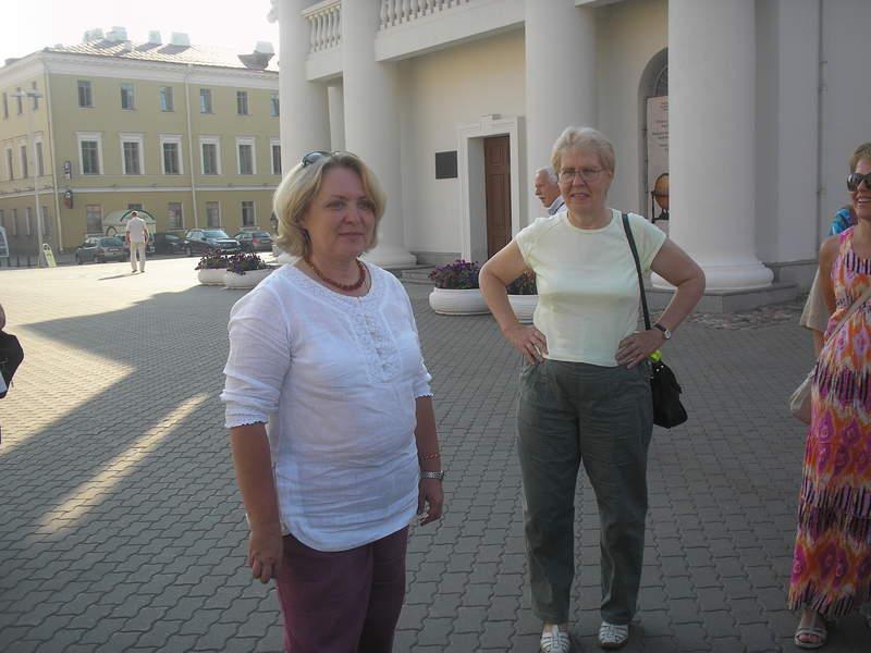Около Ратуши в Минске