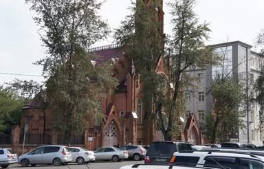 Костел в Иркутске