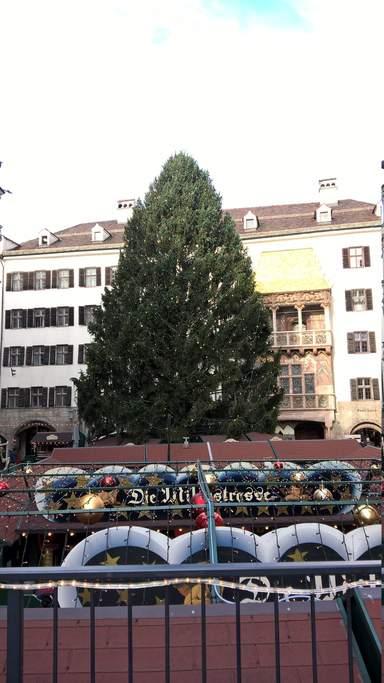 Рождество в городе