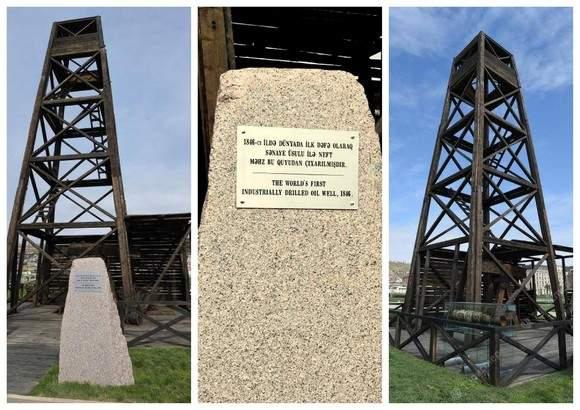 Первая нефть получили ударным способом с применением деревянных штанг 14 июля 1846 года
