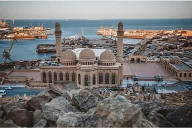Мечеть в посёлке Биби- Эйбат