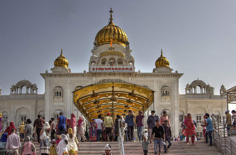 Гурудва Бангла Сахиб, сикский храм в Дели