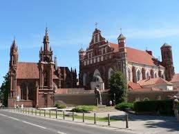 Костелы св. Анны и Бернардинцев
