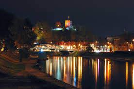 Вид на замок Гедиминаса
