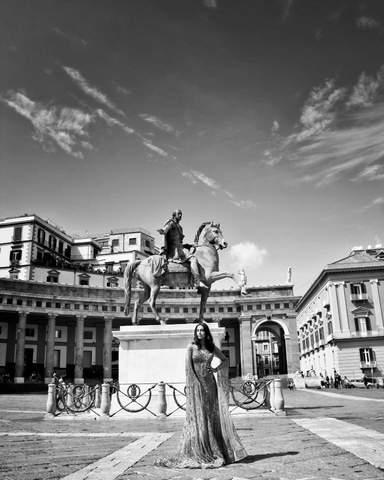 Неаполь площадь Плибесцита