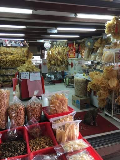 Рынок сухих морепродуктов