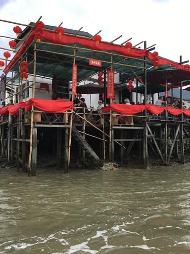 Ресторан в деревне  Тай О
