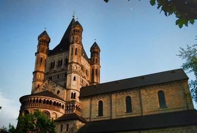 Романская церковь Большого святого Мартина