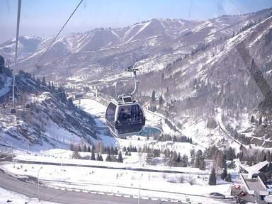 Чимбулак в Алмате