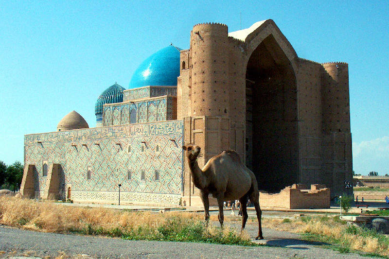 Мавзолей  Ходжа Ахмеда Яссави в Туркестане