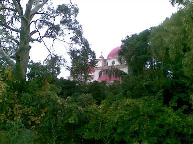 Капернаум. Православная церковь 12-ти апостолов