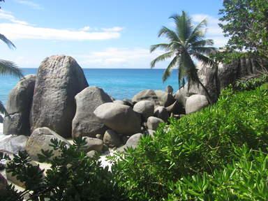 Carana beach (северо-восток Маэ)