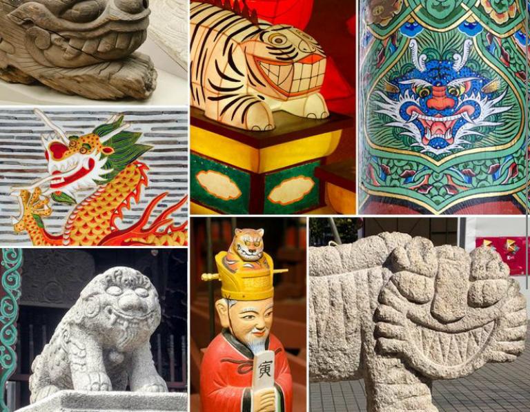 Символы культуры в ремеслах и архитектуре Кореи