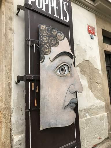 Витрины магазинов  Праги