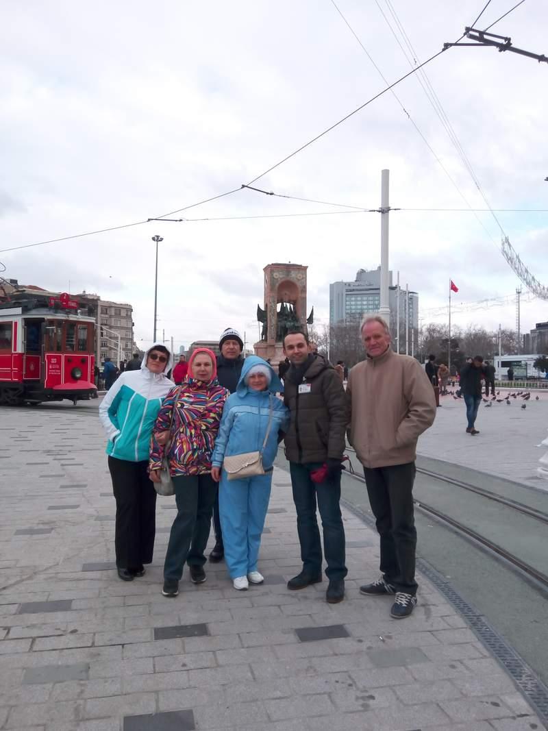 Современная площадь города Таксим