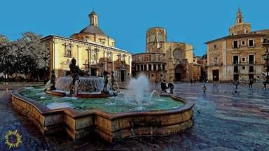 Площадь девы Марии в Валенсии