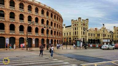 Арена для боя быков в Валенсии