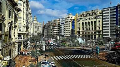 Площадь Мэрии в Валенсии