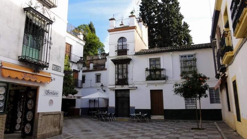 Квартал Санта крус в Севилье