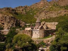 Вид на монастырь Гегард