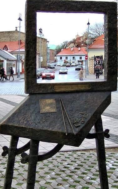 улочки Вильнюса