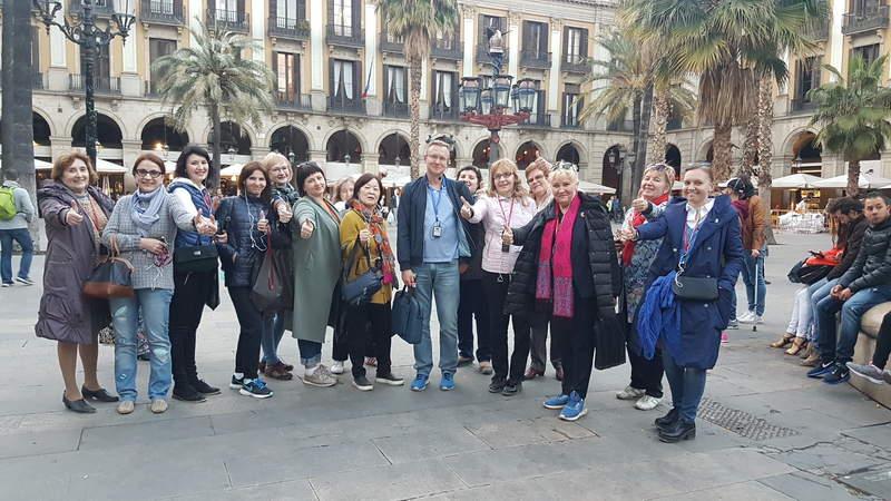 Королевская площадь в Барселоне