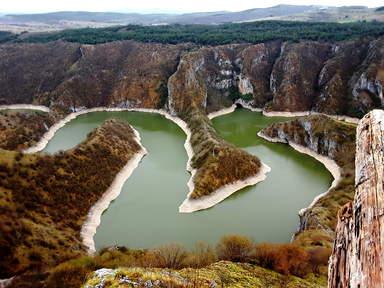 Каньон Увац Красивейшее место в Сербских горах