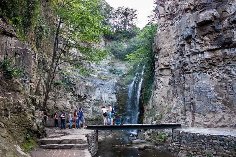 Водопад реки Цавкисисцкали