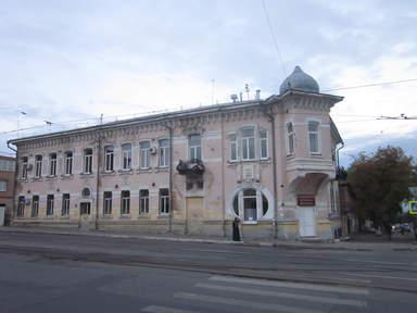 дом купца Челышева (свадебный подарок)