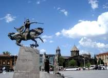 5. Центральный площадь города гюмри
