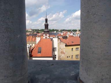 Вид на Новый Город и его крыши